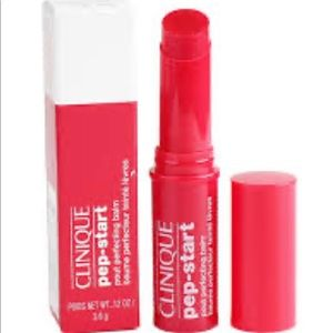 🌺$10 in bundle🌺NIB CLINIQUE PEP START POUT BALM